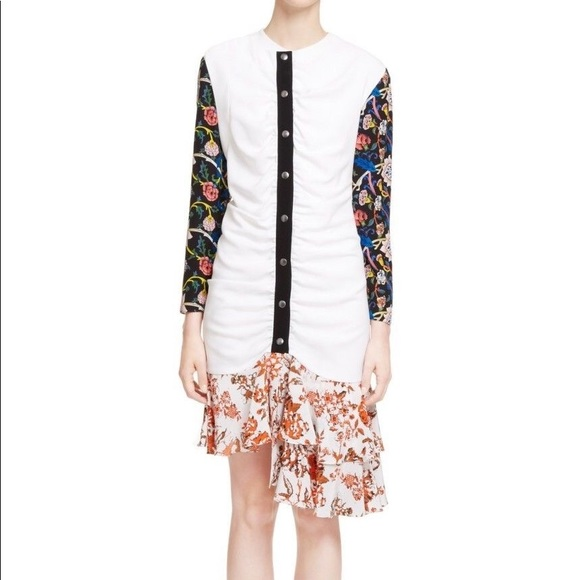 J.W. Anderson Dresses & Skirts - New with Tag J. W. Anderson ruffled hem dress